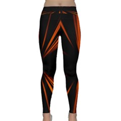 Abstract Light Classic Yoga Leggings by HermanTelo