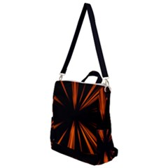 Abstract Light Crossbody Backpack