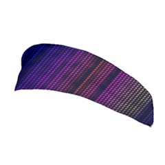 Abstract Background Plaid Stretchable Headband