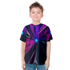 Abstract Background Lightning Kids  Cotton Tee