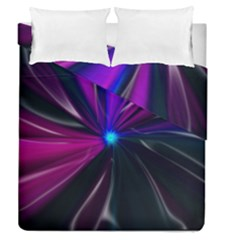 Abstract Background Lightning Duvet Cover Double Side (queen Size)