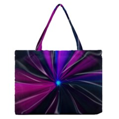 Abstract Background Lightning Zipper Medium Tote Bag by HermanTelo