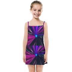 Abstract Background Lightning Kids  Summer Sun Dress by HermanTelo