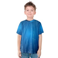 Abstract Line Space Kids  Cotton Tee