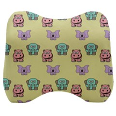 Animals Pastel Children Colorful Velour Head Support Cushion