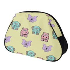 Animals Pastel Children Colorful Full Print Accessory Pouch (small) by HermanTelo