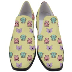Animals Pastel Children Colorful Slip On Heel Loafers by HermanTelo