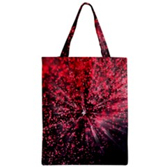 Abstract Background Wallpaper Space Zipper Classic Tote Bag