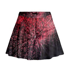Abstract Background Wallpaper Space Mini Flare Skirt