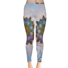 Wonderful Mandala Inside Out Leggings by FantasyWorld7