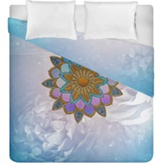 Wonderful Mandala Duvet Cover Double Side (king Size) by FantasyWorld7