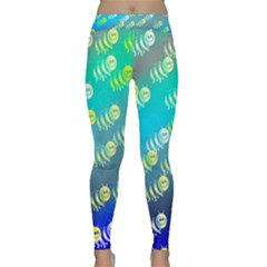 Animal Bee Classic Yoga Leggings by HermanTelo