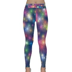 Abstract Background Graphic Space Classic Yoga Leggings by HermanTelo
