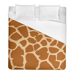 Giraffe Skin Pattern Duvet Cover (full/ Double Size) by HermanTelo