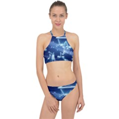 Music Sound Musical Love Melody Racer Front Bikini Set