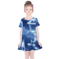 Music Sound Musical Love Melody Kids  Simple Cotton Dress