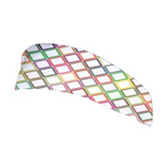 Grid Colorful Multicolored Square Stretchable Headband by HermanTelo