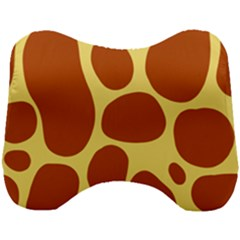 Seamless Tile Skin Background Head Support Cushion