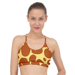Seamless Tile Skin Background Basic Training Sports Bra by HermanTelo