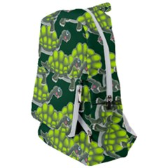 Seamless Turtle Green Travelers  Backpack