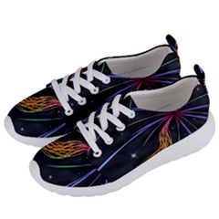 Stars Space Firework Burst Light Women s Lightweight Sports Shoes by HermanTelo