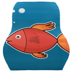 Sketch Nature Water Fish Cute Car Seat Back Cushion