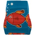 Sketch Nature Water Fish Cute Car Seat Back Cushion  View2