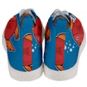 Sketch Nature Water Fish Cute Men s Mid-Top Canvas Sneakers View4