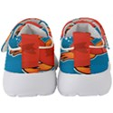 Sketch Nature Water Fish Cute Kids  Velcro Strap Shoes View4