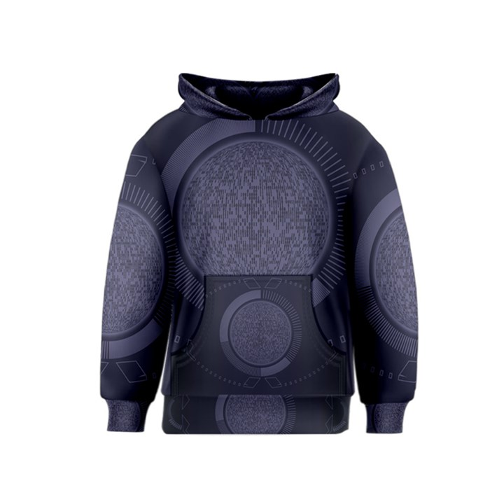 Technology Eye Kids  Pullover Hoodie