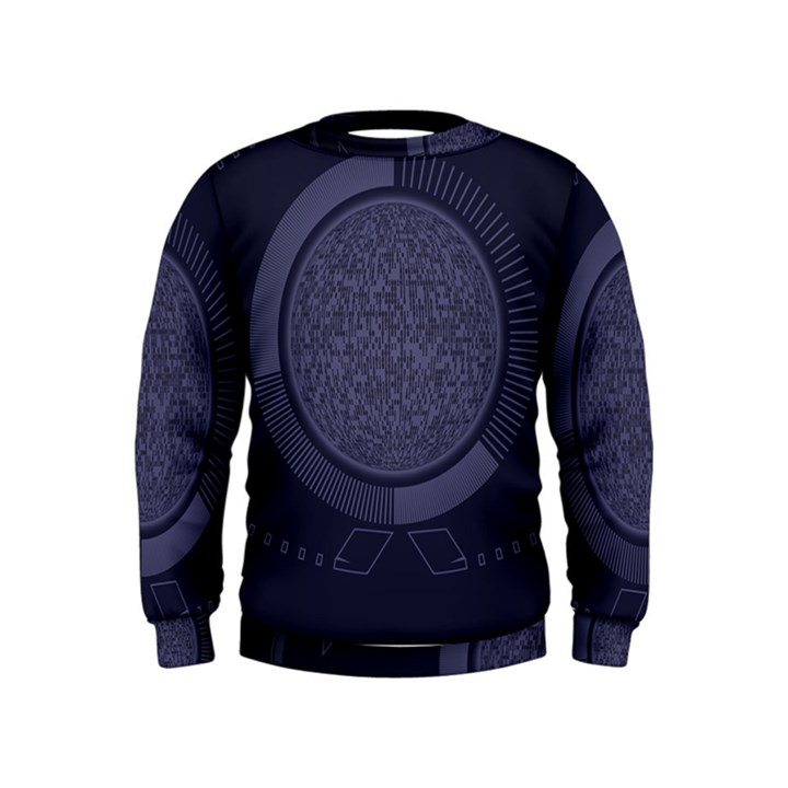 Technology Eye Kids  Sweatshirt