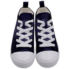 Technology Eye Kids  Mid Top Canvas Sneakers