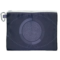 Technology Eye Canvas Cosmetic Bag (xxl) by HermanTelo
