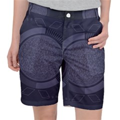 Technology Eye Pocket Shorts by HermanTelo