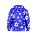 Star Background Pattern Advent Kids  Pullover Hoodie View2