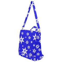 Star Background Pattern Advent Crossbody Backpack by HermanTelo
