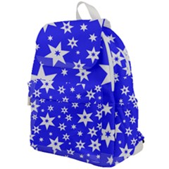 Star Background Pattern Advent Top Flap Backpack by HermanTelo