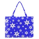Star Background Pattern Advent Medium Tote Bag View1