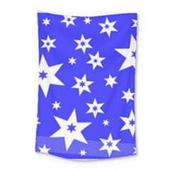 Star Background Pattern Advent Small Tapestry by HermanTelo