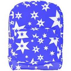 Star Background Pattern Advent Full Print Backpack by HermanTelo