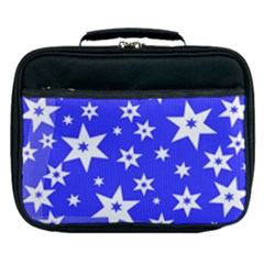Star Background Pattern Advent Lunch Bag by HermanTelo