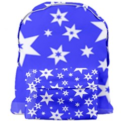 Star Background Pattern Advent Giant Full Print Backpack by HermanTelo