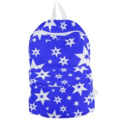 Star Background Pattern Advent Foldable Lightweight Backpack by HermanTelo