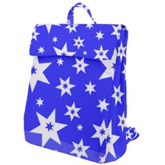 Star Background Pattern Advent Flap Top Backpack by HermanTelo