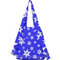 Star Background Pattern Advent Center Zip Backpack View2