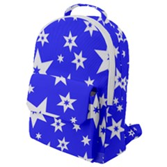 Star Background Pattern Advent Flap Pocket Backpack (small) by HermanTelo