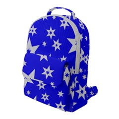 Star Background Pattern Advent Flap Pocket Backpack (large) by HermanTelo