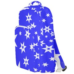 Star Background Pattern Advent Double Compartment Backpack by HermanTelo