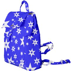Star Background Pattern Advent Buckle Everyday Backpack by HermanTelo