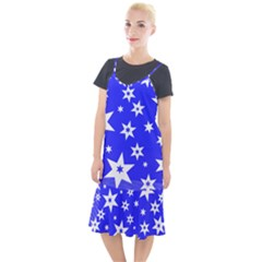 Star Background Pattern Advent Camis Fishtail Dress